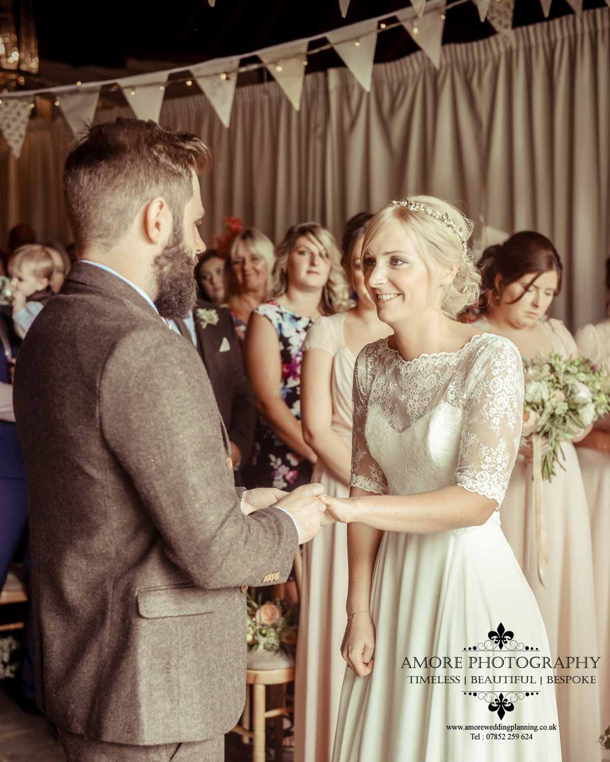 Vintage Wedding Photographer Wakefield North Yorkshire Leeds Wedding Photography Vintage Rustic Barn Weddings (56)